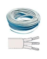 Câble électrique tripolaire 3 x 1.5 mm²