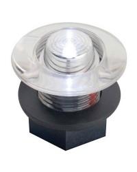 Feu de courtoisie polycarbonate à LED ø38 12V - bleu