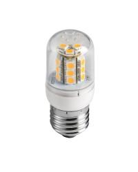 Ampoule LED SMD culot E27 avec protection en verre 3,6 W