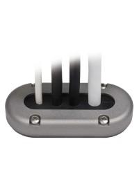 Presse-étoupe SCANSTRUT alu - câble Ø 12 à 15 mm - 99x48 mm