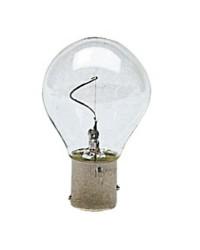 Ampoule à filament vertical, pôles désaxés 10W 12V