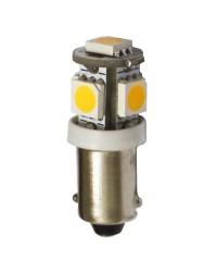 Ampoule à LED BA9S pour feux de navigation L 28 mm