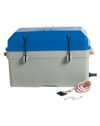Bac à batterie étanche capacité 1 batterie 100 - 360x185x220h