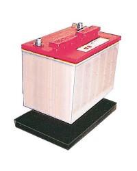 Support caoutchouc pour batterie 125A