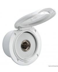 Régulateur de pression encastré Classic blanc avec nouveau systéme de fermeture