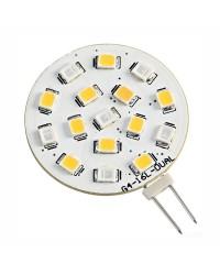 Ampoule LED Blanc bleu 24V culot G4