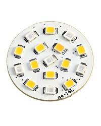 Ampoule LED Blanc rouge 24V culot G4