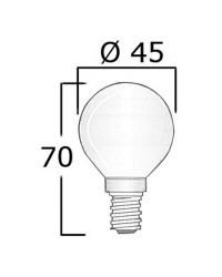Ampoule culot E14 24V