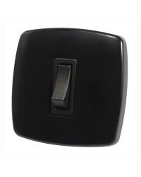 Interrupteur Contemporary 1 fonction - noir