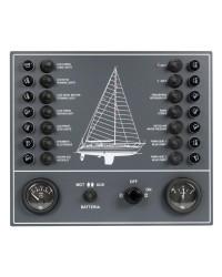 Tableau électrique 14 fusibles pour voilier