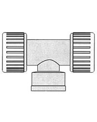 Raccord en T 1/2'' Hydrofix 22mm
