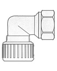 Coude 3/4'' Hydrofix fem/fem 22mm