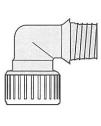 Coude 3/4'' Hydrofix fem/mâle 22mm