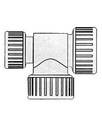 T réduit Hydrofix 22/22/15mm