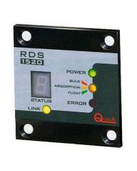 Tableau de contrôle de chargeur de batterie QUICK - affichage à LED