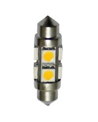 Ampoule LED fusée entraxe 36mm 1,7W