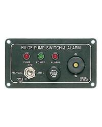 Tableau électrique pour pompe de cale avec alarme