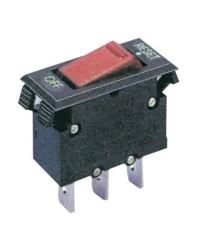 Disjoncteur a bascule thermique avec voyant lumineux 10A