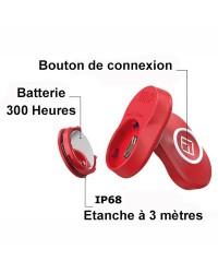xFOB avec batterie pour arrêt moteur automatique MOB Wireless FELL MARINE