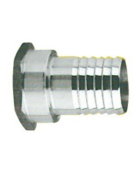 Embout inox femelle 1''x25