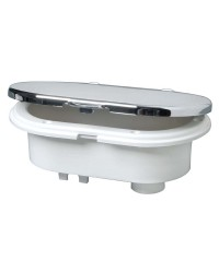 Coffret MIZAR douche+mélangeur porte chromée 2,5M