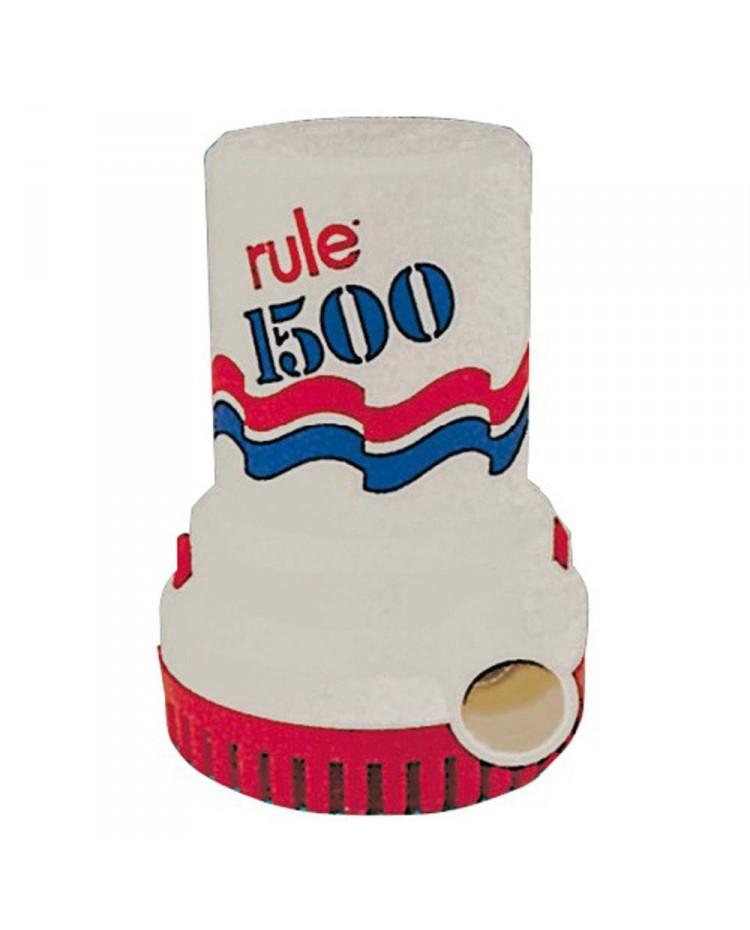 Pompe de cale immergée Rule 1500 - 6000 l/h - 12V