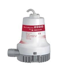 Pompe de cale centrifuge 2000 - 7680 l/h - 12V