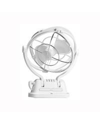 Ventilateur CAFRAMO modèle Sirocco II 12/24V - blanc