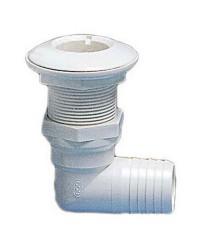 Passe-coque 90° PVC 1'' - ø19 mm