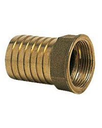 Embout femelle laiton - 15 mm - 3/8''