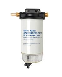 Filtre carburant avec décanteur transparent - 206 L/h