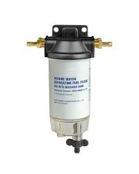 Filtre essence compact avec décanteur transparent - 115 l/h