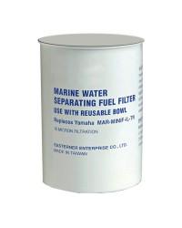 Cartouche pour filtre essence avec décanteur transparent - 115 l/h