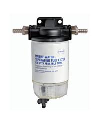 Filtre carburant avec décanteur transparent - 193 l/h