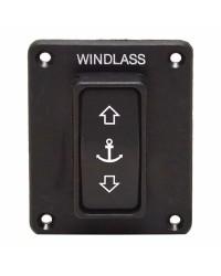 Interrupteur à bascule protégé pour guindeau Lewmar VX, VXL, HX