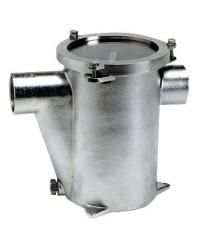 Filtre eau inox 1''1/2 pour refroidissement moteur