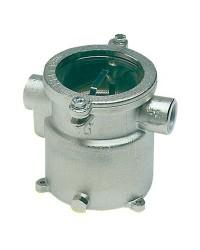 Filtre eau laiton nickelé 1 1/4 pour refroidissement moteur