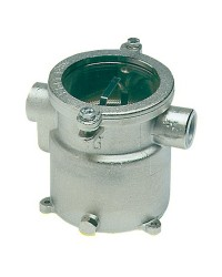 Filtre eau laiton nickelé 1 1/2 pour refroidissement moteur