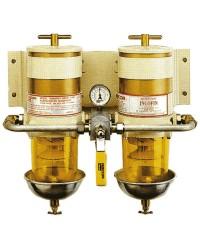 Filtre Racor  Version double avec vanne de sélection 75/900/MA