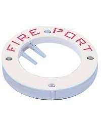 Trappe coupe-feu Fire Port plastique