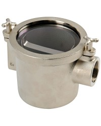 Filtre eau laiton nickelé 1''1/4tasse
