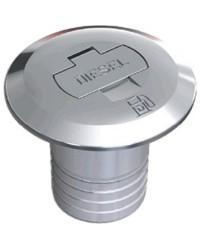 Bouchon en laiton chromé à clé Ø50 Diesel