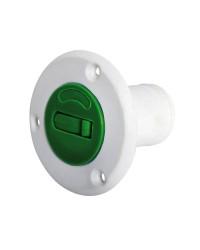 Nable de réservoir fibre de verre/nylon FUEL 38 mm - Vert