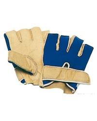 Gant demi-doigts paume en fleur de cuir traité Taille XL