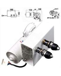 Moteur série 100 W pour bras max 900 mm et brosse max 1000 mm 24V