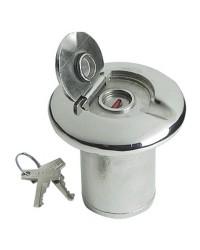 Nable de réservoir inox FUEL 50 mm - avec serrure