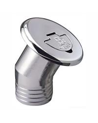 Bouchon de nable en laiton chromé incliné 30° - Ø 50 mm - Diesel