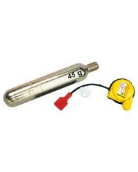 Kit de recharge bombonne 60g + activateur Hammar MA1 pour gilet 275-300N