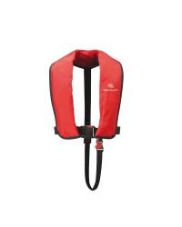 Gilet de sauvetage gonflable Fun 150N manuel pour adulte - rouge