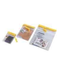 Pochette porte-documents étanche PVC 127x178mm